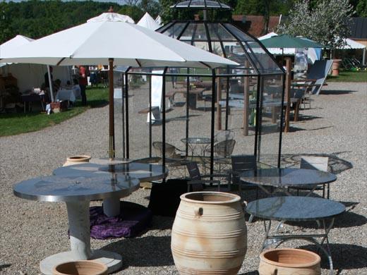 Wagner Granit: Krukker, granitborde, pavillon til haven